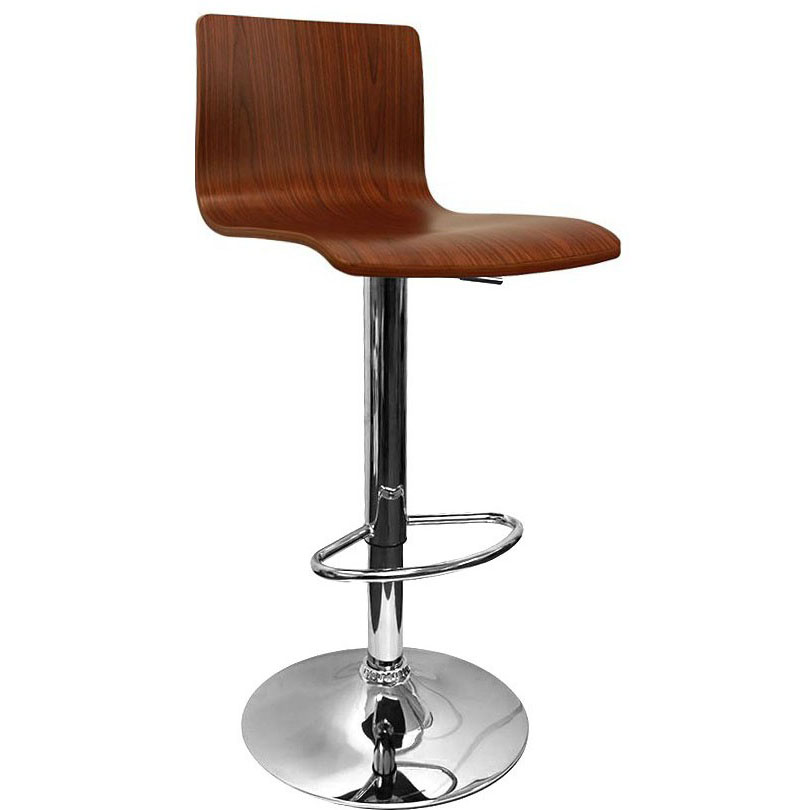 Venezia Bar Stool - Walnut